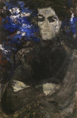 """Filippova M. V. """"Portrait of Anatoly Nitochkin."""""""
