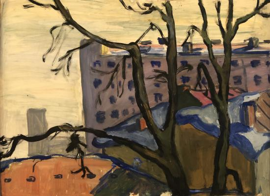 "Belyutin E. M. ""Landscape"""