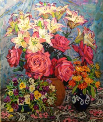 "Valiakhmetov A. K. ""Garden flowers"""