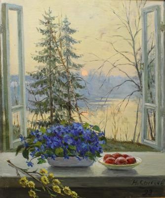 "Sysoyev N. A. ""Easter morning."""