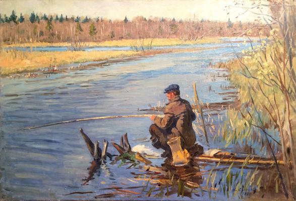 Сысоев Николай Александрович. На рыбалке.
