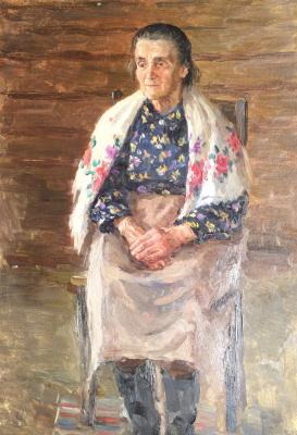 """Sysoyev N. A. """"Grandmother."""""""