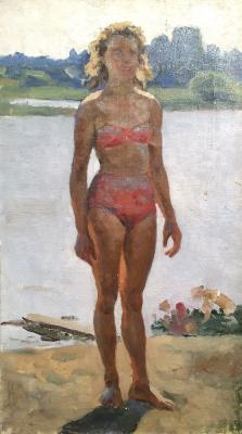 "Sysoyev N. A. ""On the pond."""