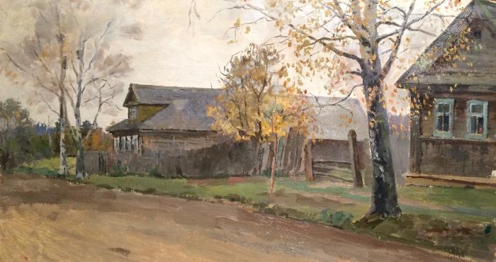 """Sysoyev N. A. """"Village street."""""""