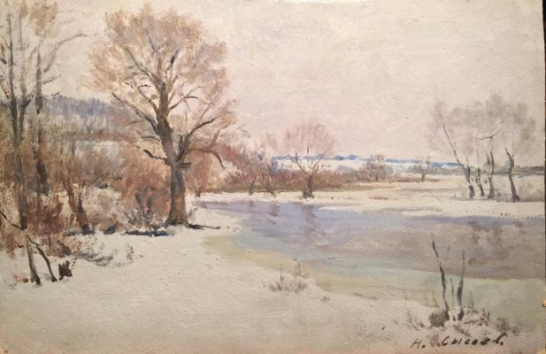 """Sysoyev N. A. """"The beginning of spring"""""""