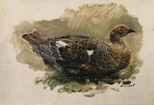 "Sysoyev N. A. ""Testerka on the nest"""