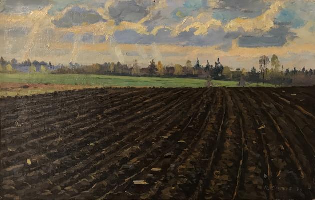 """Sysoyev N. A. """"Arable land"""""""