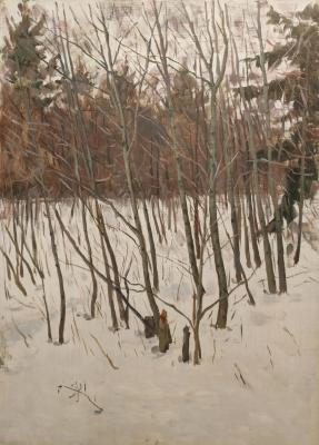 Сысоев Николай Александрович. В лесу ранней весной