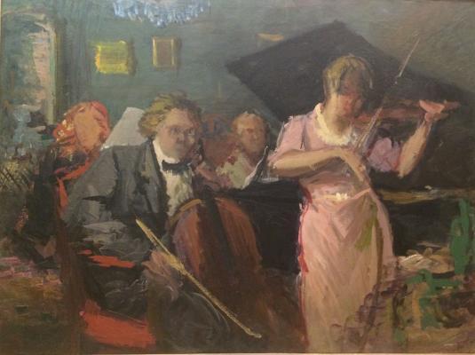 """Shurpin F. S. """"Violin Concerto."""""""