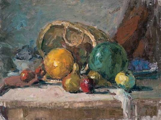 Девинов–Нюренберг Давид Маркович. Натюрморт с фруктами.