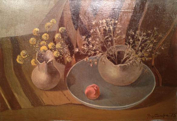 "Grigoryan M. G. ""Still life with thorns."""