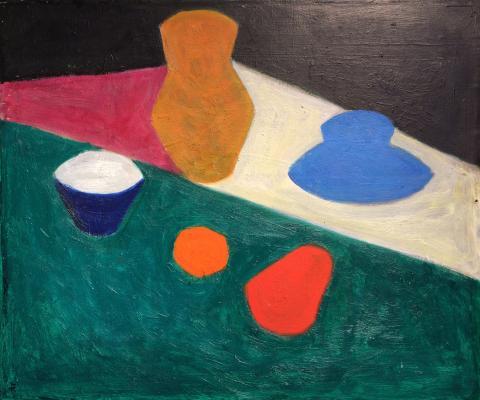 "Golitsyna K. N. ""Blue Still Life"""