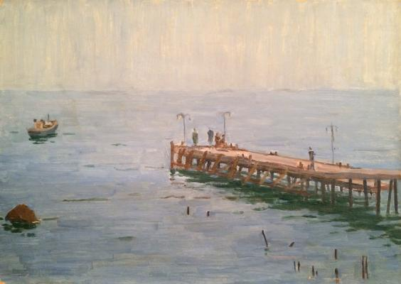 "Mossakovsky P. A. ""Marina boats in Gurzuf"""