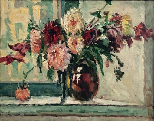 "Matasov N. A. ""Flowers on the window """""