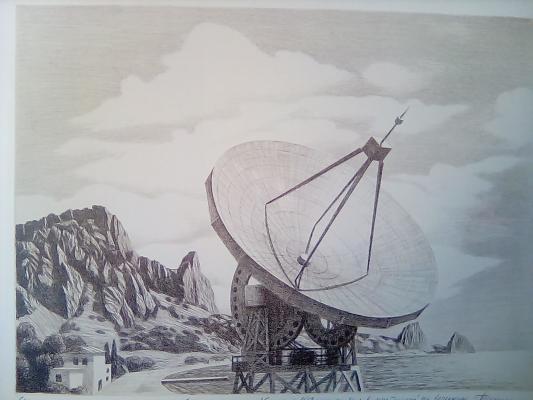 "Bachurin Y. V. ""Crimean Observatory. Coast."""
