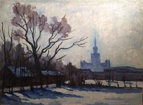 "Sretensky G. ""View on the University."""