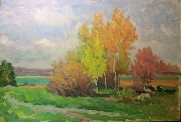 "Sretensky G. ""Autumn. Moscow region."""
