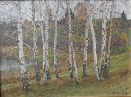 "Svetlichnaya O. G. ""Late fall."""