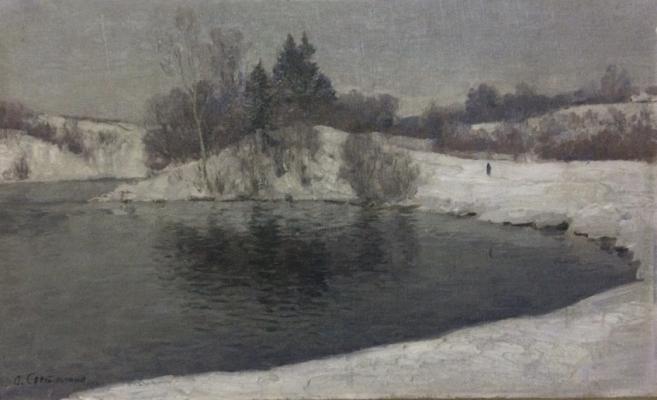 Светличная Ольга Григорьевна. Зимний пейзаж