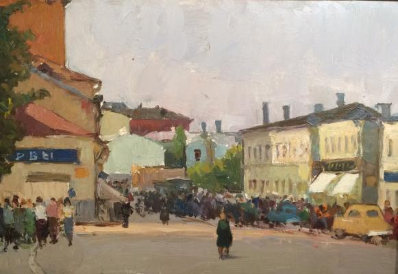 "Kolyada S. A. ""Pyatnitskaya Street, Clement lane. Moscow."""