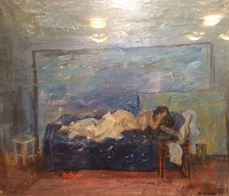 "Mirzoyan ""Nude in the interior."""