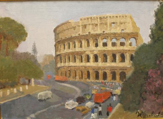 """Zhuravlev D. V. """"Rome. Coliseum."""""""