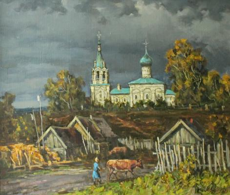 "Dubov A. F. ""Before the storm."""