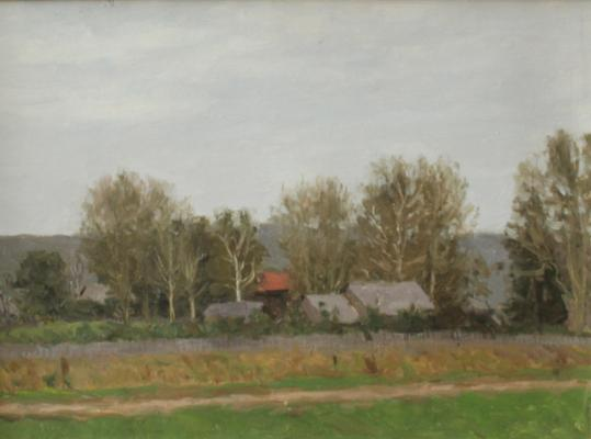 "Mukhin ""Moscow. Beginning of autumn."""