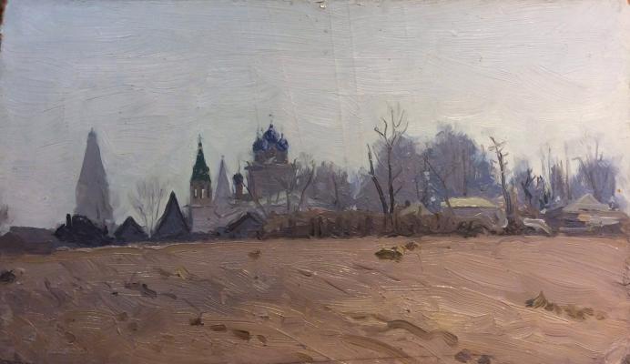 Мухин Семен Григорьевич. Утро в Коломенском