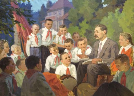 """Gorbunov Y. V. """"Pioneers in Gorky."""""""