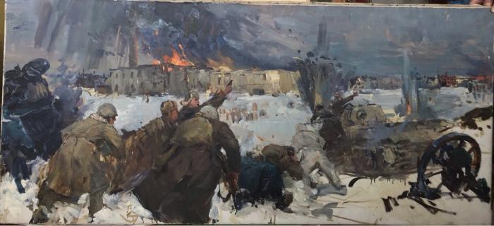 Антонов Сергей Георгиевич. Сталинград