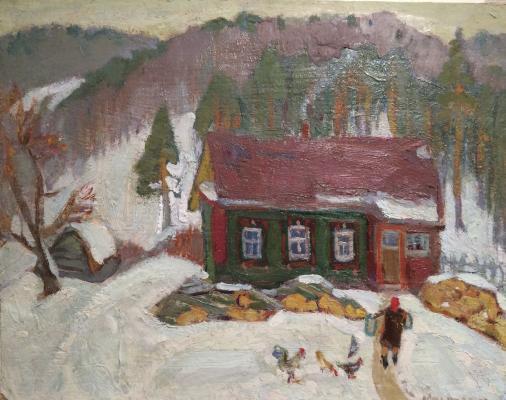 "Kuznetsov Y. M. ""Warm winter."""