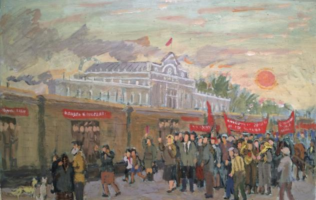 "Kuznetsov Y. M. ""Seeing the front Omsk cooperators in 1941."""