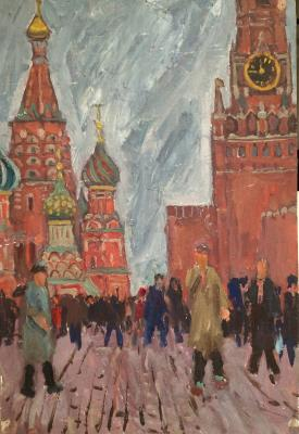 "Kuznetsov Y. M. ""On the Red Square."""