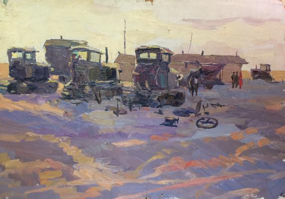 """Vorontsov D. A. """"Tractors."""""""