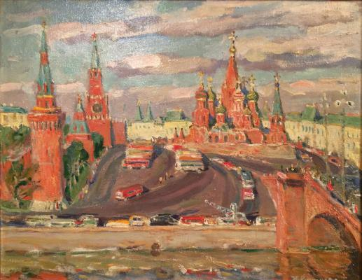 "Kuznetsova Y. Y. ""Moscow morning."""