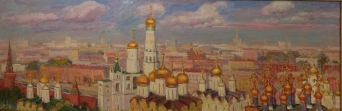 "Kuznetsova Y. Y. ""Moscow. Kremlin."""