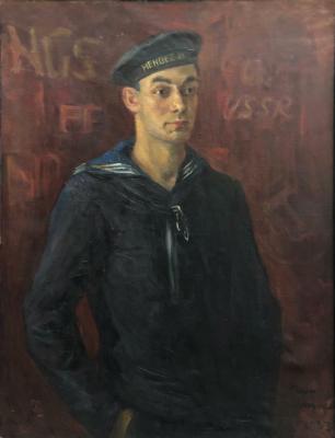 Модоров Федор Александрович. Портрет моряка