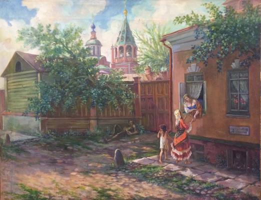 Спасский Павел Иосафович. Старая Москва.