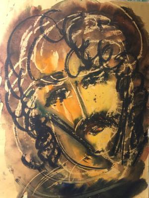 """Aleynikov V. D. """"Portrait of a man."""""""