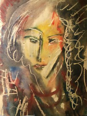 """Aleynikov V. D. """"Female portrait."""""""
