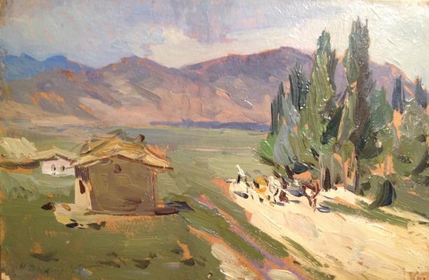 "Dryuchin N. I. ""In the mountains of Kazakhstan."""