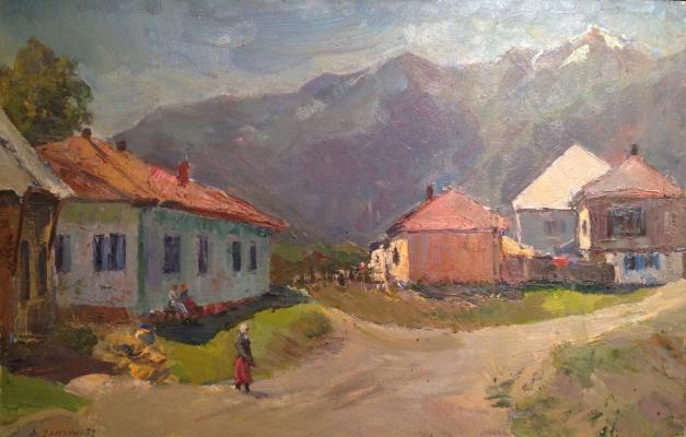 "Dryuchin A. N. ""Tiberda. The village in the mountains."""