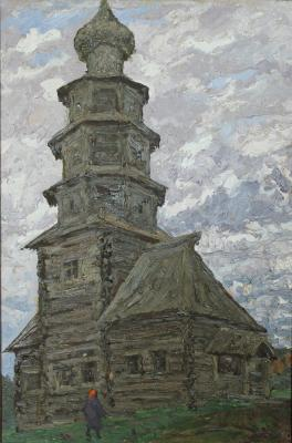 "Safonov V. A. ""Church on Highway Staritsa. Torzhok."""