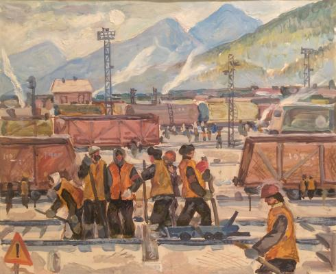 "Kitayev A. F. ""Tynda. Working day."""
