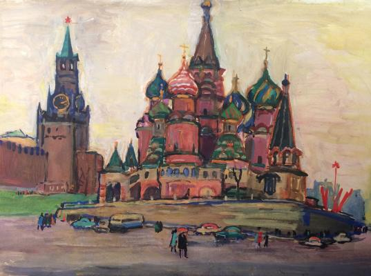 "Gippius N. A. ""A view of the St. Basil"""
