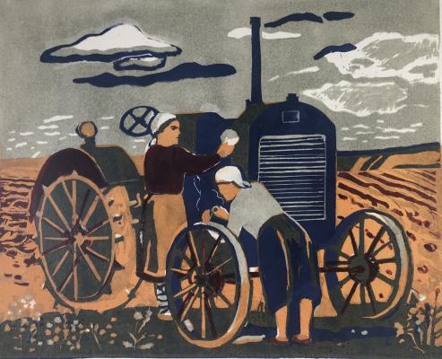 Гиппиус Наталия Александровна. Трактор