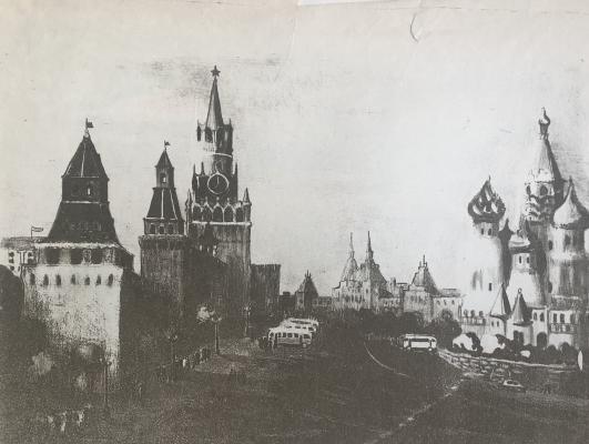 Гиппиус Наталия Александровна. Красная площадь