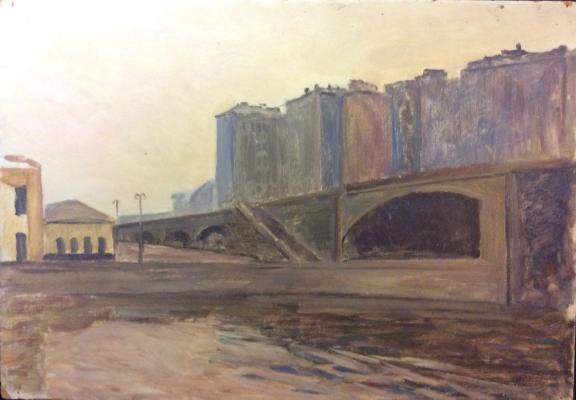 Гиппиус Наталия Александровна. Большой Каменный мост. Дом на набережной