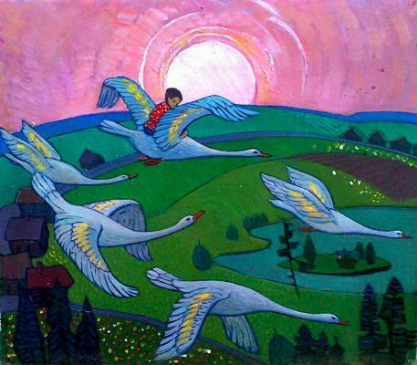 "Khanum V. ""Geese and Swans ."""